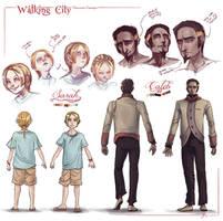 Walking City OCT - Sarah + Caleb Ref by scribblecloud