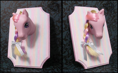 My Little Pony Hunting Trophy by Gloomyswirl