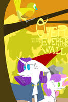 Over The Everfree Wall by newsketches
