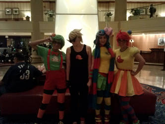 Anime usa 2013: homestuck tricksters by thexwierdxgroup