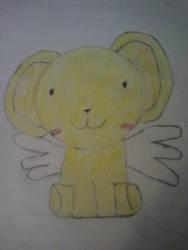 kero-chan drawing from Cardcaptor Sakura by thexwierdxgroup