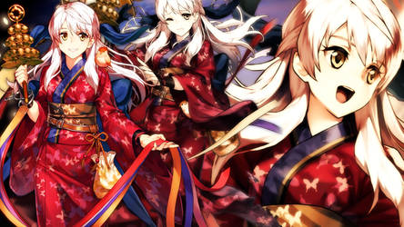 Fire Emblem Heroes - Festival Micaiah Wallpaper by AuroraMaster