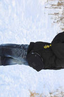 me filming in snow by melliepivot