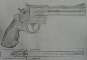 magnum drawn by melvin mast by melliepivot