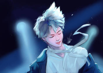 the thing that jimins hair does by crylica-kress