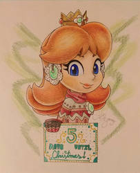 .:*Christmas Countdown*:. Starring Princess Daisy by AmyRosers