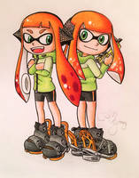 {Comm.} Corocoro manga style: Coral by AmyRosers