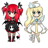 Demon Angel Child Adopts ( CLOSED ) by Starry-Stellary