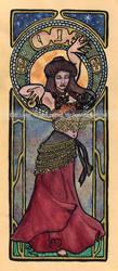 Nouveau Belly Dancer by MaryLayton
