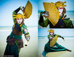 Kyoshi Warrior by Korinchan