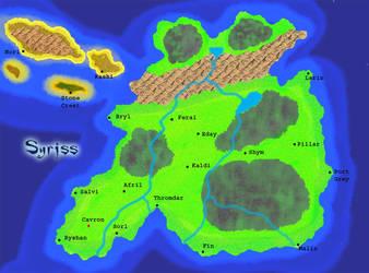 Syriss - Land of Demons by gabefinder
