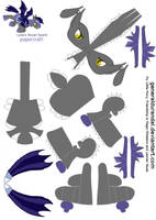 Luna's Royal Guard for PaperCraft 1 by GeneralDurandal