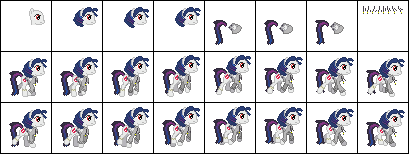 Nimble Sprint Jacketed Trotter Sprites by GeneralDurandal