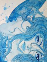 Blue by Gyuufun
