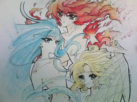 Rayearth by giulystar-chan