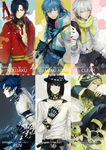 DMMd characters by Memipong