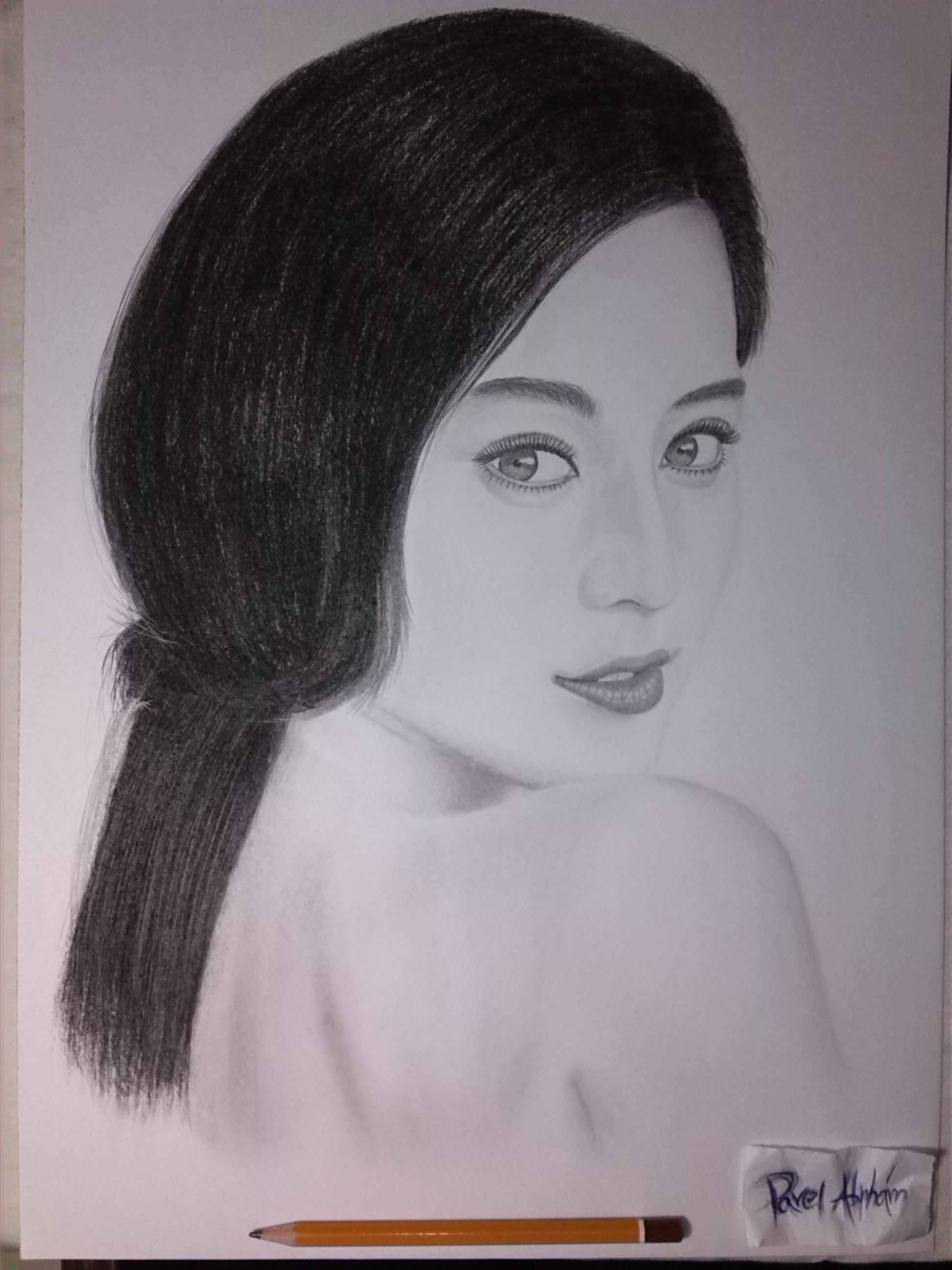 Fan Bingbing by Pavel-Abrham