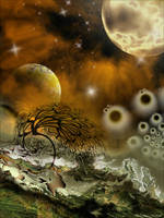 Interplanetary Confrontation by AnnaKirsten
