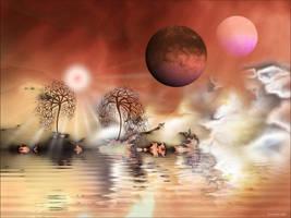 Oriental Fantasia by AnnaKirsten