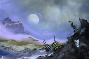 Birth of a Triffid by AnnaKirsten