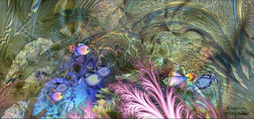 A view inside an aquarium by AnnaKirsten