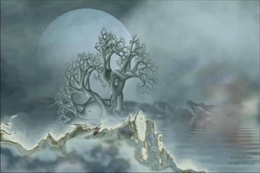 Tranquility in the Mist by AnnaKirsten