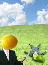 Fruit on Fruit Crime by iwashinblo0d