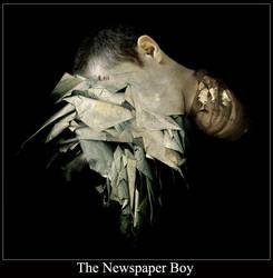 The Newspaper Boy by iwashinblo0d