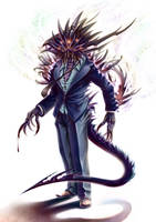 Tsukiyomi's Reaper by Lun-art