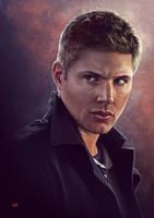 Supernatural Dean by Lun-art