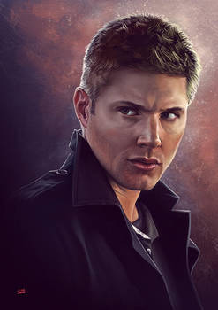 Supernatural Dean by Lun-art