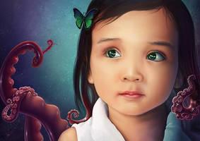 Little Girl by Lun-art