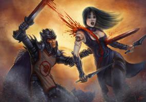 Killing - DragonDead by Lun-art