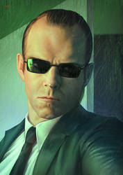 Agent Smith - Matrix by Lun-art