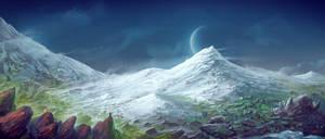 Snow Land by Lun-art