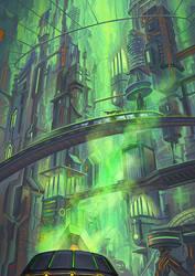 Megacity - Doxa by Lun-art