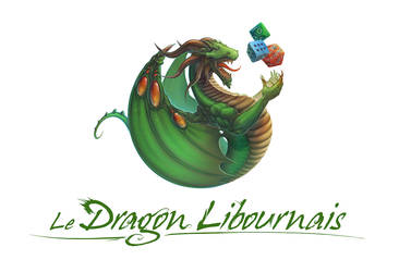 Dragon Libournais Logo Painting by Lun-art