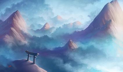 Tao Torii by Lun-art