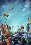 Burdigame - Stratejeux by Lun-art