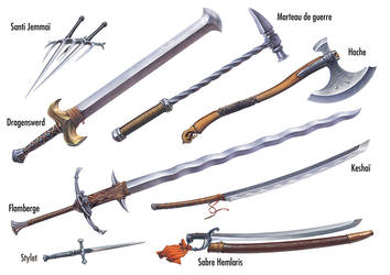 Weapons Song of Loss by Lun-art