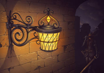 Mellia lamp by Lun-art