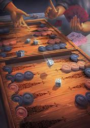 Katawa game by Lun-art