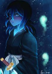 Glowing Souls - Rukia by sugarpotato