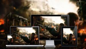 Apocalypse Wallpaper by hongkiat