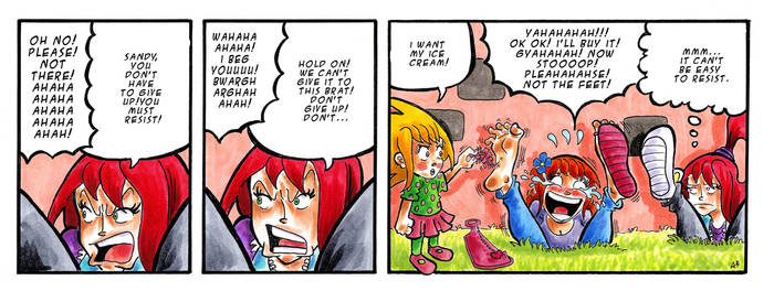 Melyssa back in action - Part 9 by EveryDayComix