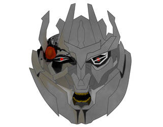 Transformers Dark Of The Moon Megatron by Lambo9871