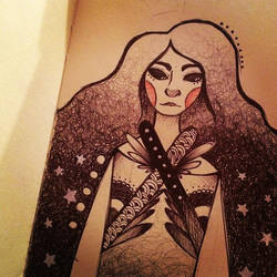 Astro Girl by Raisa-Doodle