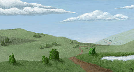 Hills by Camhaoir