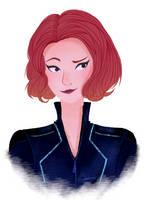 Black Widow by slieni