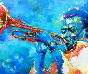 Blue Davis by tilenti